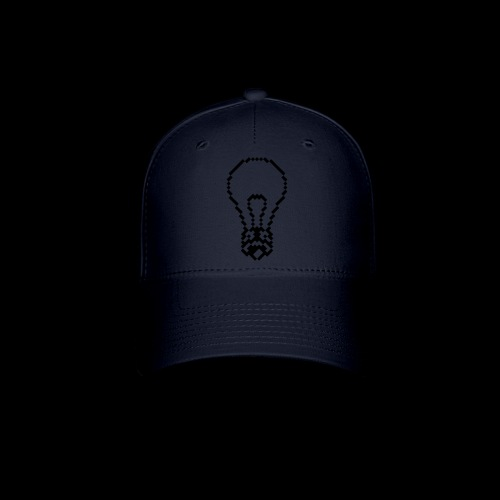 lightbulb - Baseball Cap