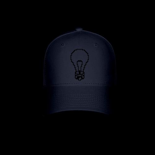 lightbulb by bmx3r - Baseball Cap