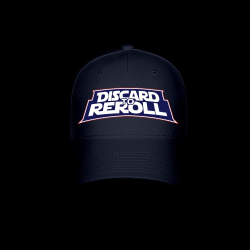 Discard to Reroll: Logo Only - Baseball Cap
