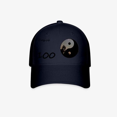 crazy pip hat 100 subs - Baseball Cap