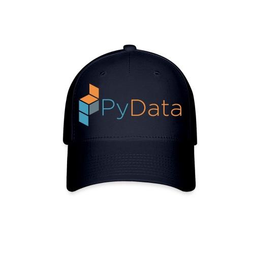 Official PyData Logo and Wordmark - Baseball Cap