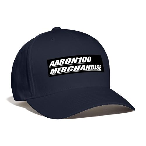 BLACK AND WHITE line aaron100 merchandise - Baseball Cap