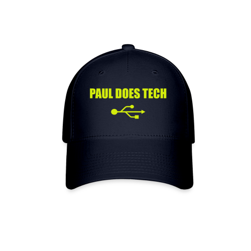 Paul Does Tech Logo Yellow With USB (BS) - Baseball Cap
