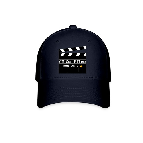 G M co Films logo + Subscribe combo - Baseball Cap