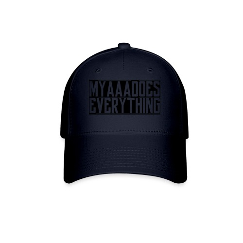 MyaaaDoesEverything (Black) - Baseball Cap