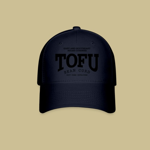 Tofu (black) - Baseball Cap