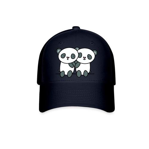 Cute Pandas Hugging - Baseball Cap