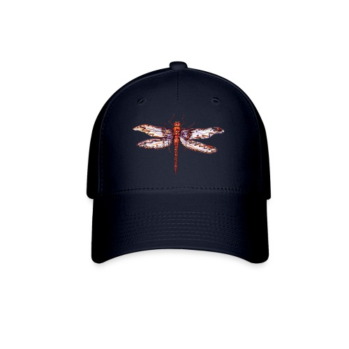 Dragonfly red - Baseball Cap