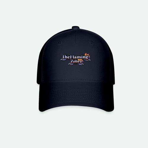 BIG TheFlamingZebra Logo - Baseball Cap