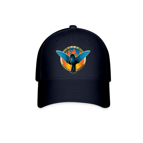 Choose Courage - Fireblue Rebels - Baseball Cap