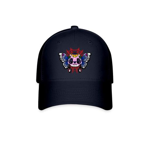 skull butterfly - Baseball Cap