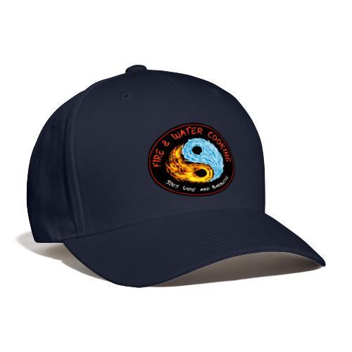 Fire & Water Cooking Full Sized Logo - Baseball Cap