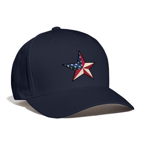 American Patriot Barn Star - Baseball Cap