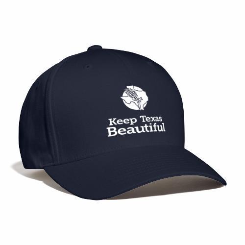 Keep Texas Beautiful Logo - White - Baseball Cap