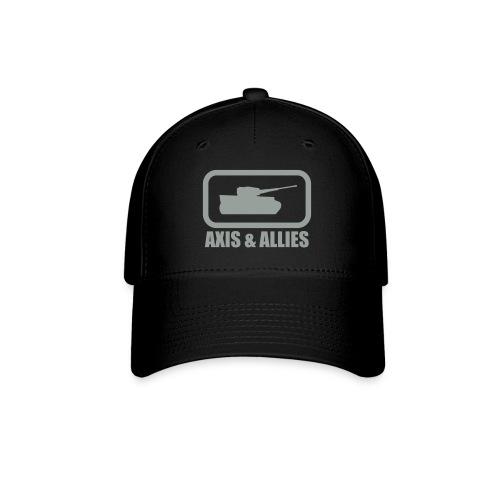 Tank Logo with Axis & Allies text - Multi-color - Baseball Cap