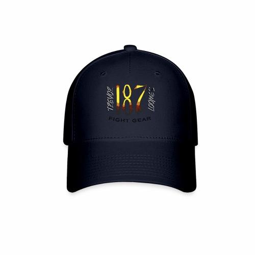 Coloured Trevor Loomes 187 Fight Gear Logo - Baseball Cap