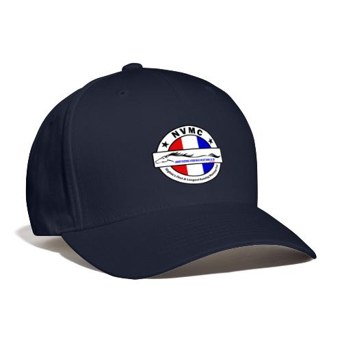 Circle logo on white with black border - Baseball Cap