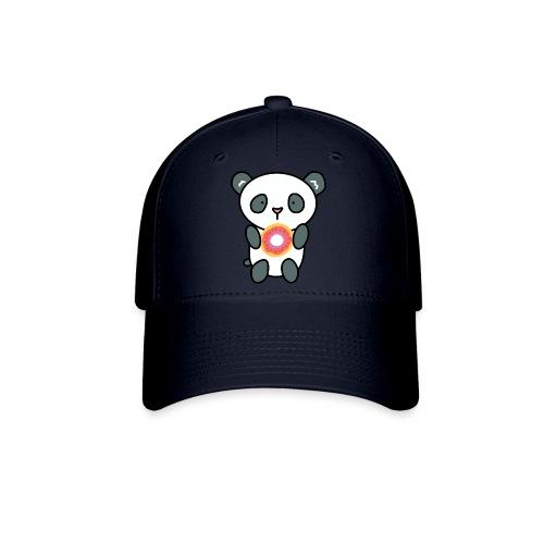 Cute Panda with Donut - Baseball Cap