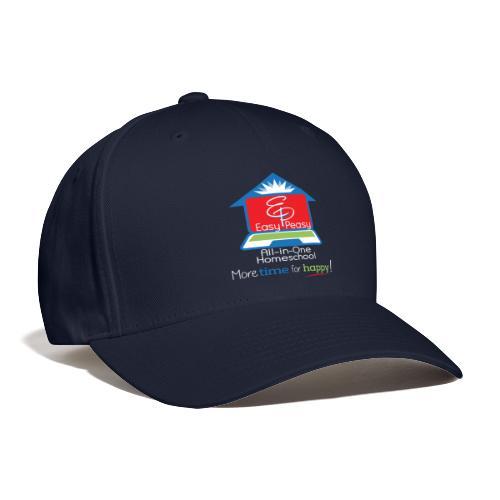 EZPZ Logo All-in-One Homeschool and Tagline - Baseball Cap