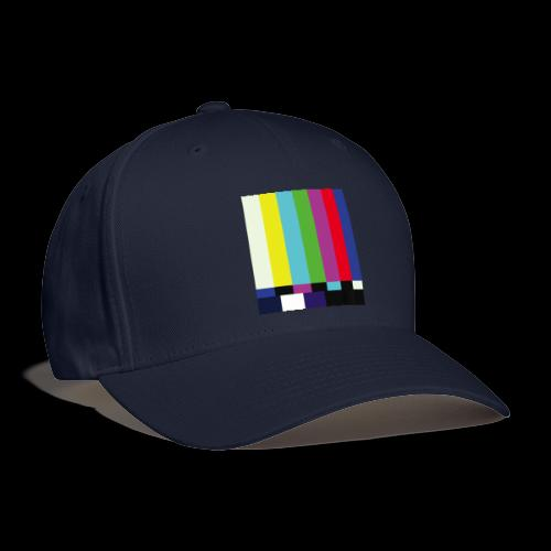 This is a TV Test | Retro Television Broadcast - Baseball Cap