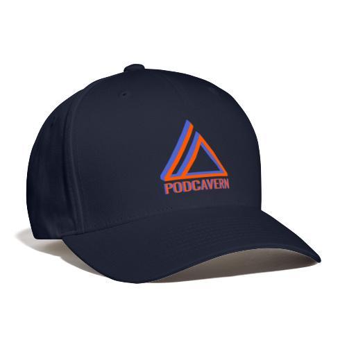 PodCavern Logo - Baseball Cap