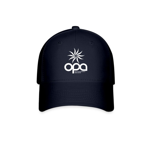 Short Sleeve T-Shirt with small all white OPA logo - Baseball Cap