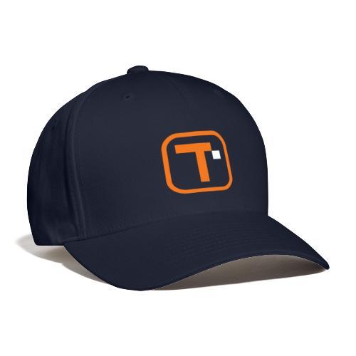 TROYPOINT Orange Logo Large Transparent - Baseball Cap