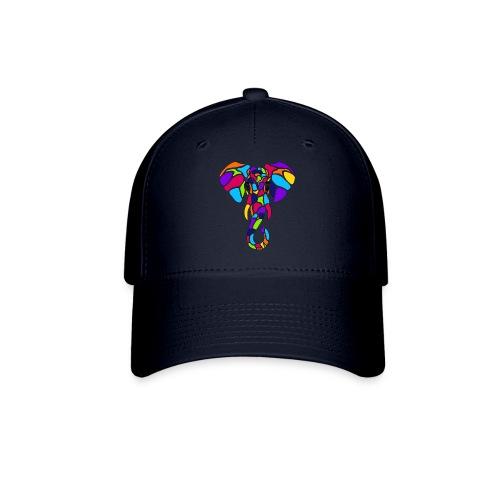 Art Deco elephant - Baseball Cap