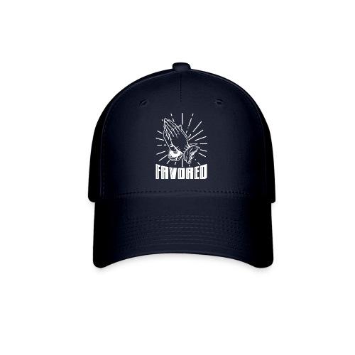 Favored - Alt. Design (White Letters) - Baseball Cap