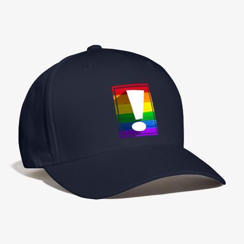 LGBTQ Pride Exclamation Point - Baseball Cap