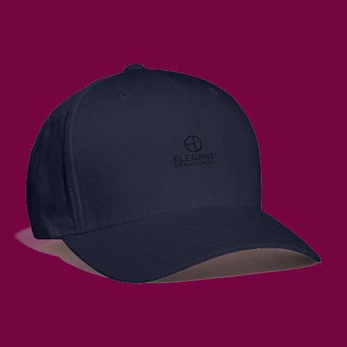 Elegant Debauchery Logo Stacked - Baseball Cap