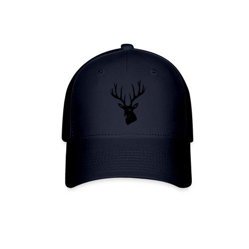 stag night deer buck antler hart cervine elk - Baseball Cap