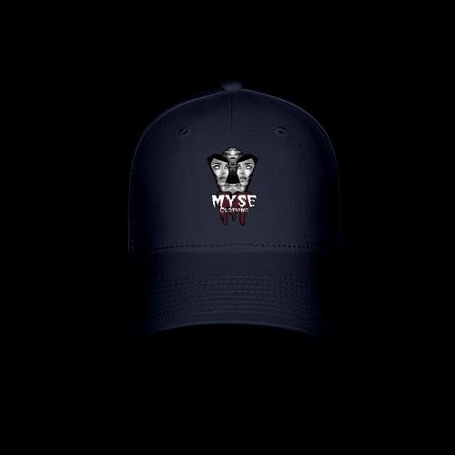 Myse clothing logo with vampire - Baseball Cap