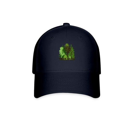 EARTHDAYCONTEST Earth Day Think Green forest trees - Baseball Cap