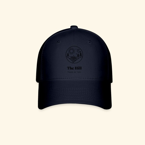 Black on Transparent - Baseball Cap