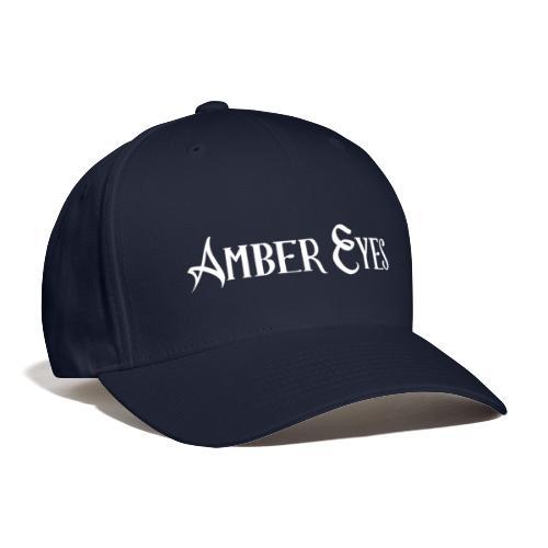 AMBER EYES LOGO IN WHITE - Baseball Cap