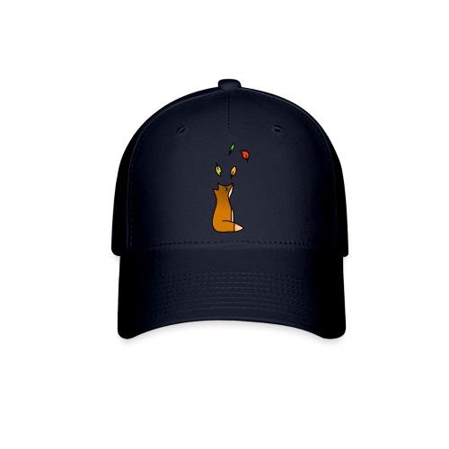 Fox with Leaves - Baseball Cap