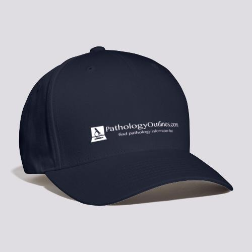 Pathology Outlines Full Logo - Baseball Cap
