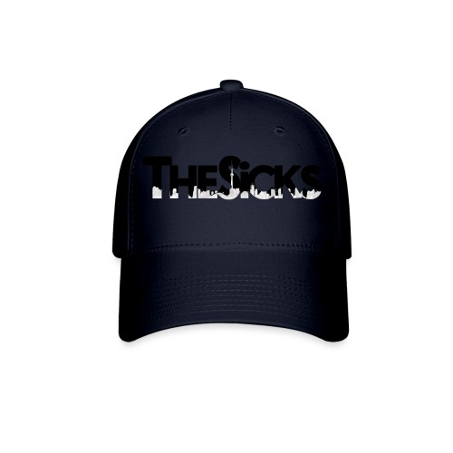 The Sicks - logo black - Baseball Cap