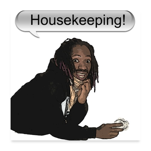 housekeeping - Poster 24x24