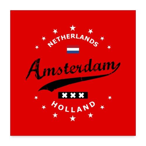 Amsterdam - Poster 24x24