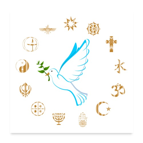 Religions for Peace - Poster 24x24