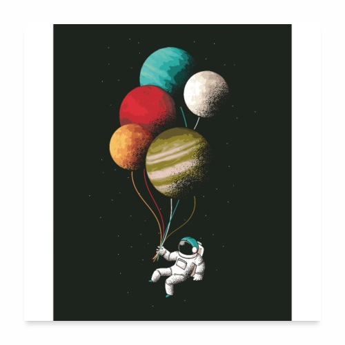 Space fly - Poster 24x24