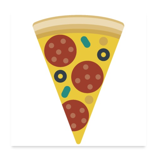 Pizza - Poster 24x24