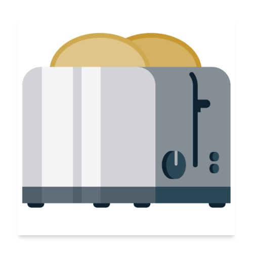 Toaster - Poster 24x24