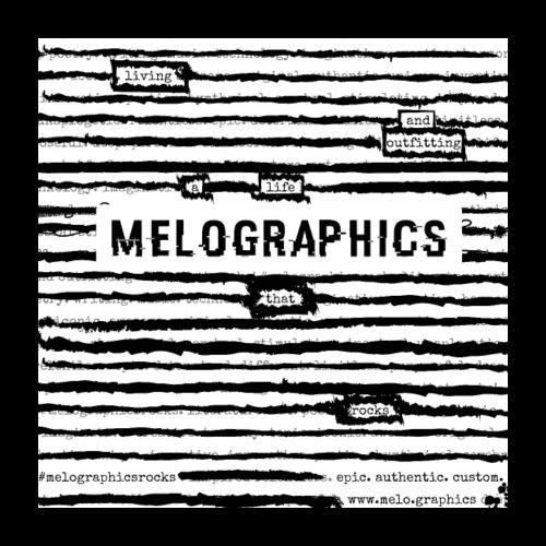 MELOGRAPHICS | Blackout Poem - Poster 24x24