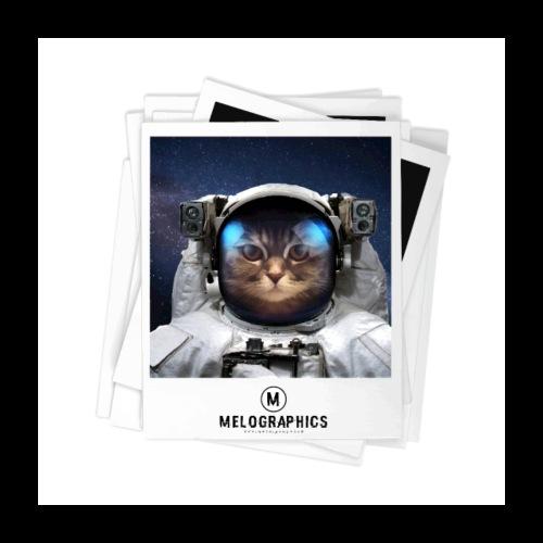 Cat Astronaut - Poster 24x24