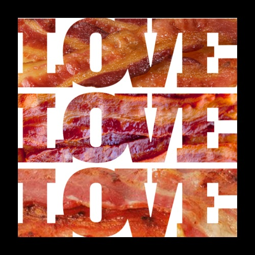 BACON LOVE - Poster 24x24