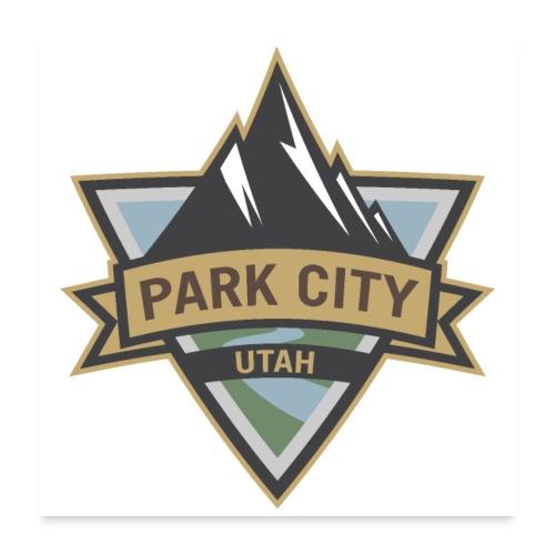 Park City, Utah - Poster 24x24