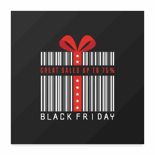 Black Friday/ Black Friday Deal/ Black Friday Deal - Poster 24x24